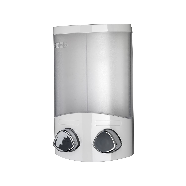 Croydex Bathroom Euro Duo White Chrome Soap Dispenser Ebay