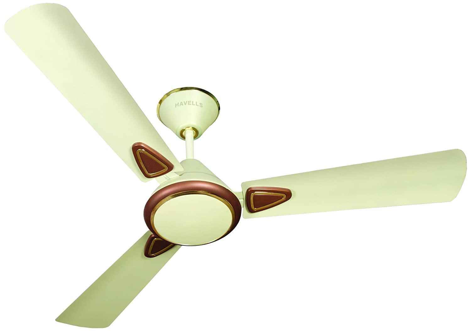 Upto 45% Off On Home Appliances By Amazon | Havells Fusion 2 900mm Matte Finish Ceiling Fan (Pearl Ivory and Brown) @ Rs.1,599