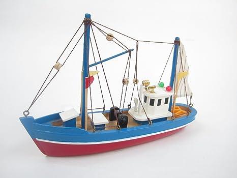 Blue Dolphin Starter Kit Bateau: Construisez votre propre bateau de pêche en bois Modèle navire