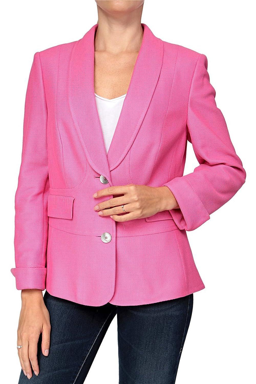 Basler Damen Blazer PINK ZEBRA, Farbe: Rosa günstig online kaufen