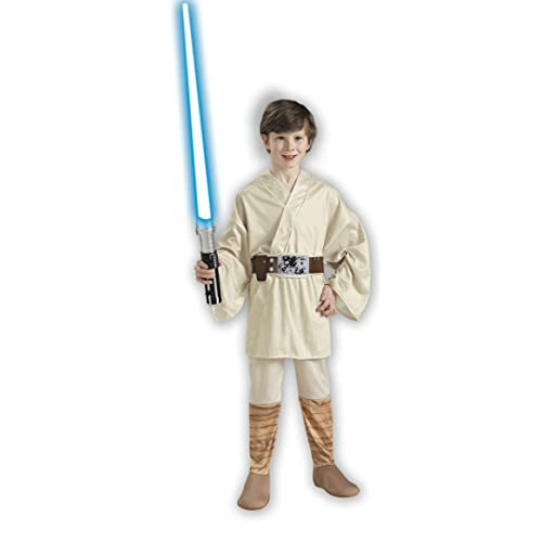 Star Wars Classic Luke Skywalker Child Costume Size: Medium (US sizes 8-10 For 5-7 years)