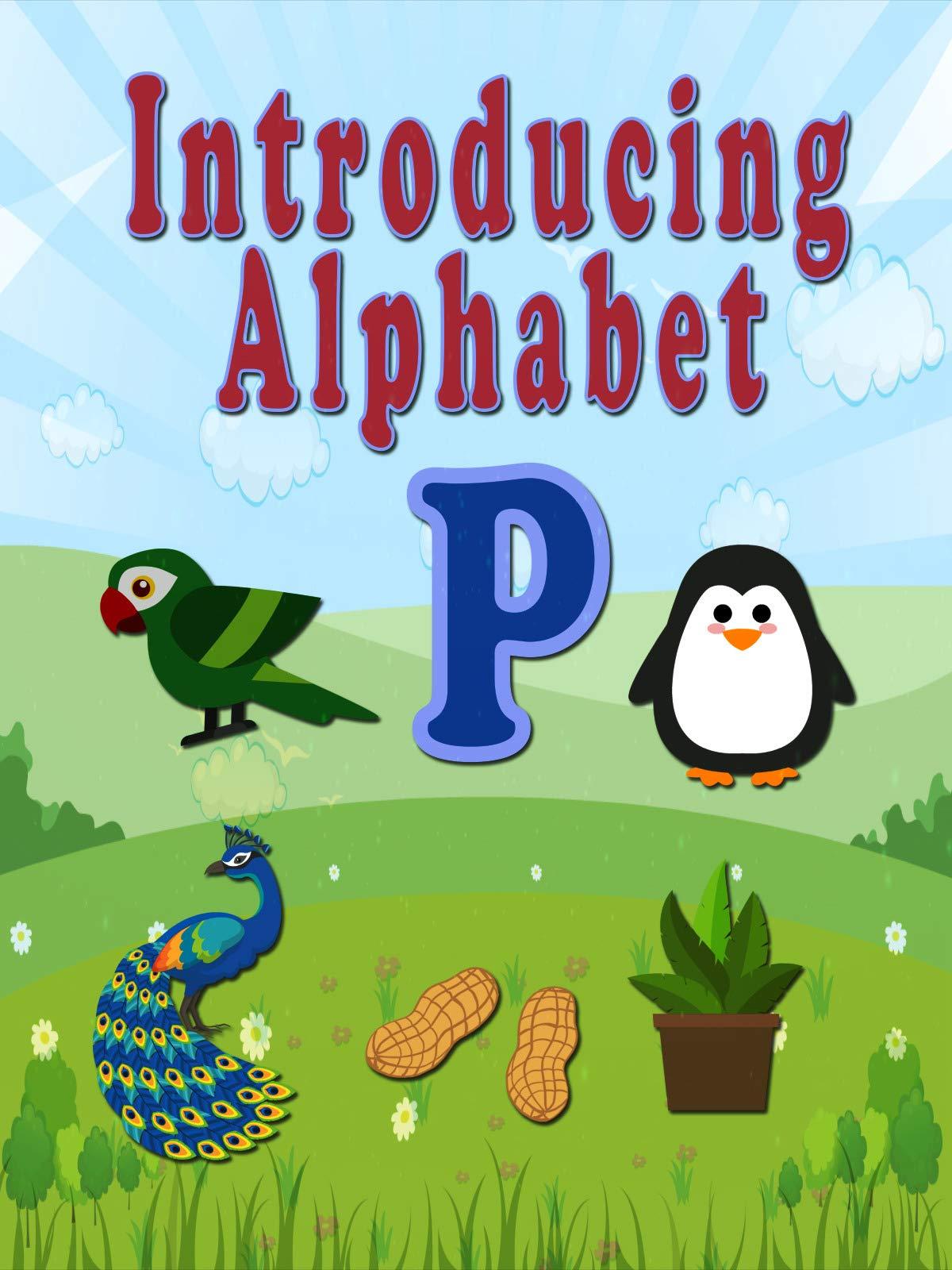 Introducing Alphabet P on Amazon Prime Video UK