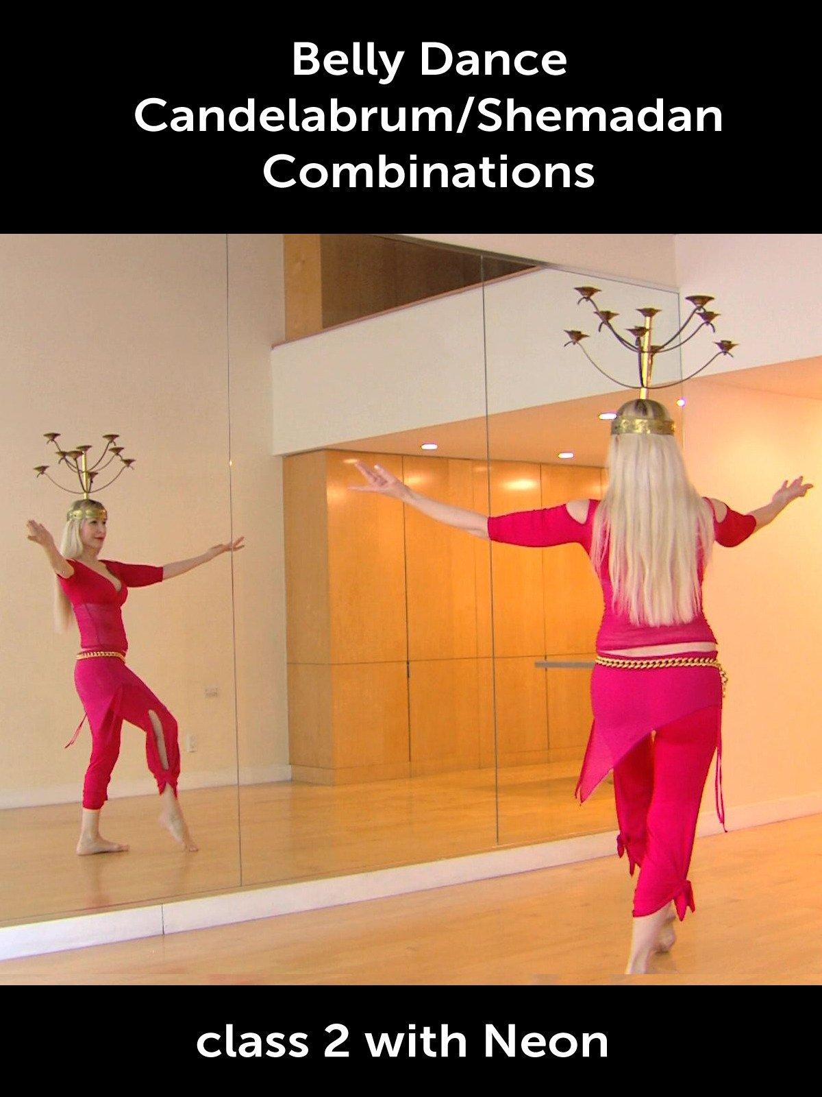 Belly Dance Candelabrum/Shemadan Combinations