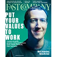 1-Year (10 Issues) of Fast Company Magazine Subscription