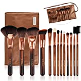 Makeup Brush Set, BEALUXUR 13pcs Makeup Brushes Premium Synthetic Bristles Powder Foundation Blush Concealers Eyeliner Lip Eyeshadow Brushes Kit with