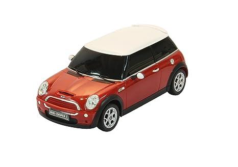 Jamara - 404035 - Maquette - Voiture - Mini Cooper S - Rouge - 3 Pièces