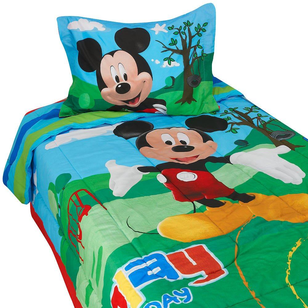 twin mickey mouse comforters for kids