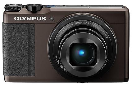 Olympus - Compact expert XZ-10 marron, zoom x5 le plus lumineux du marché, capteur BSI CMOS 12 Mpixels, écran tactile, Full HD