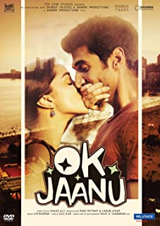 Book Cover: Ok Jaanu Hindi DVD