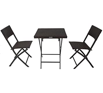 Table de camping table /& table de fête table Base pliable Table de jardin en plastique table de balcon