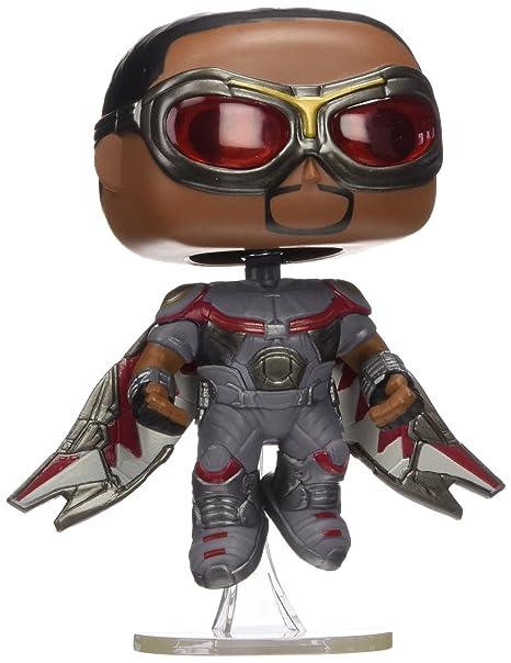 Funko - Pdf00005572 - Pop - Marvel - Captain America 3 - Falcon 127 - Noir/Gris