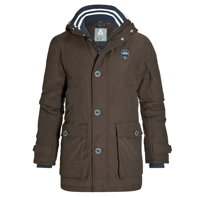 Gaastra Herren Winter Jacke Kurzmantel Sawyer brown online kaufen