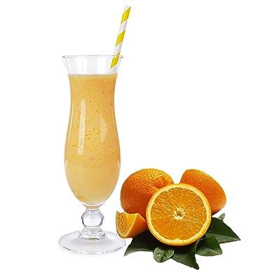 Apfelsine Geschmack Eiweißpulver Milch Proteinpulver Whey Protein Eiweiß L-Carnitin angereichert Eiweißkonzentrat fur Proteinshakes Eiweißshakes Aspartamfrei (10 kg)