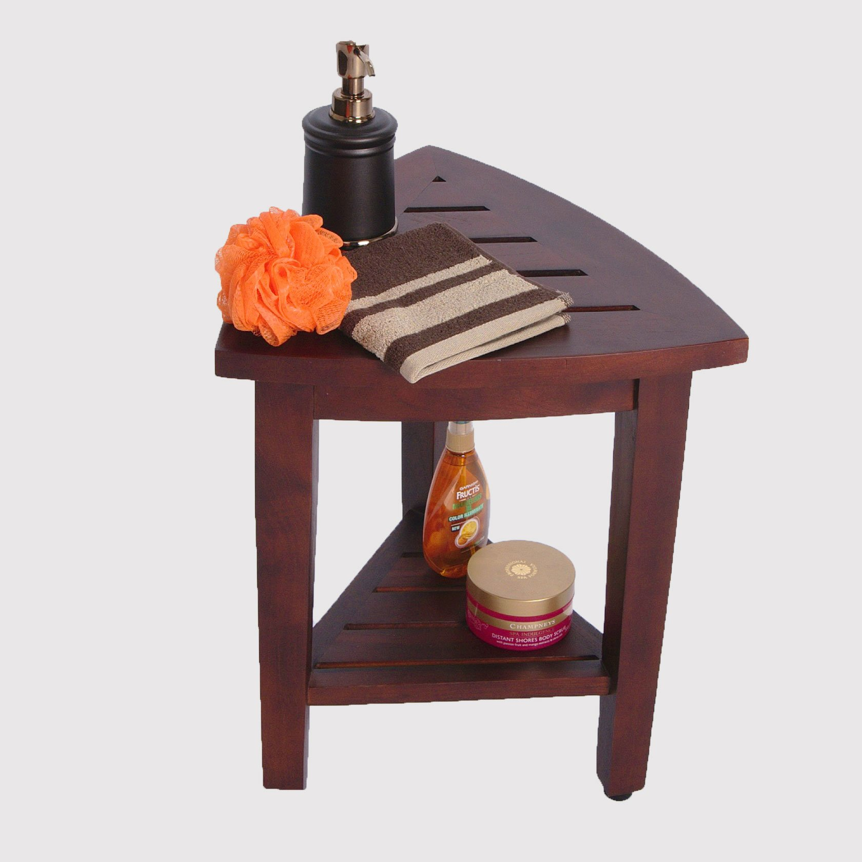 Teak Shower Stool image