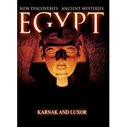 Egypt New Discoveries  Karnak and Luxor [Blu-ray]