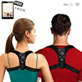 Posture Corrector for Women and Men - Comfortable Upper Back Brace & Clavicle Support - Relieves Cervical, Neck, Shoulder & Back Pain - Invisible Unde