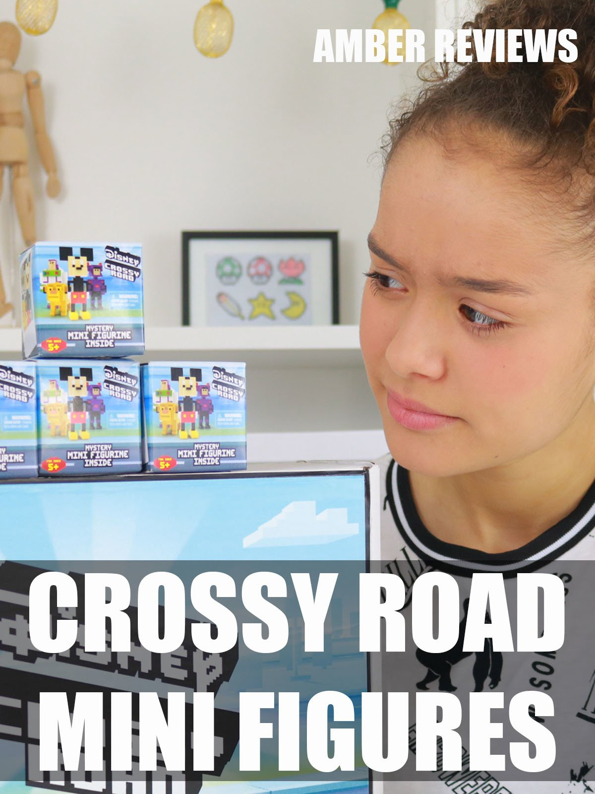 Amber Reviews Crossy Road Mini Figures