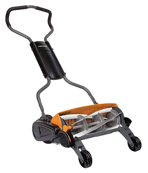 Fiskars Staysharp Max 18 inch Reel Mower