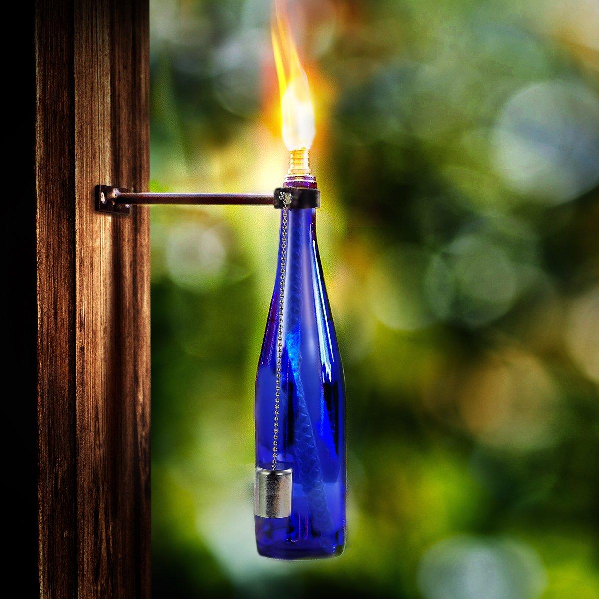 Wine Bottle Tiki Torch,Bottle Torch