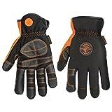 Electricians Gloves Large Klein Tools 40072 (Color: Black|Blacks, Tamaño: Large)