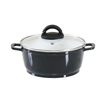 1 axentia 221436 montero casserole en en c ramique pour plaque induction 20 20 cm. Black Bedroom Furniture Sets. Home Design Ideas