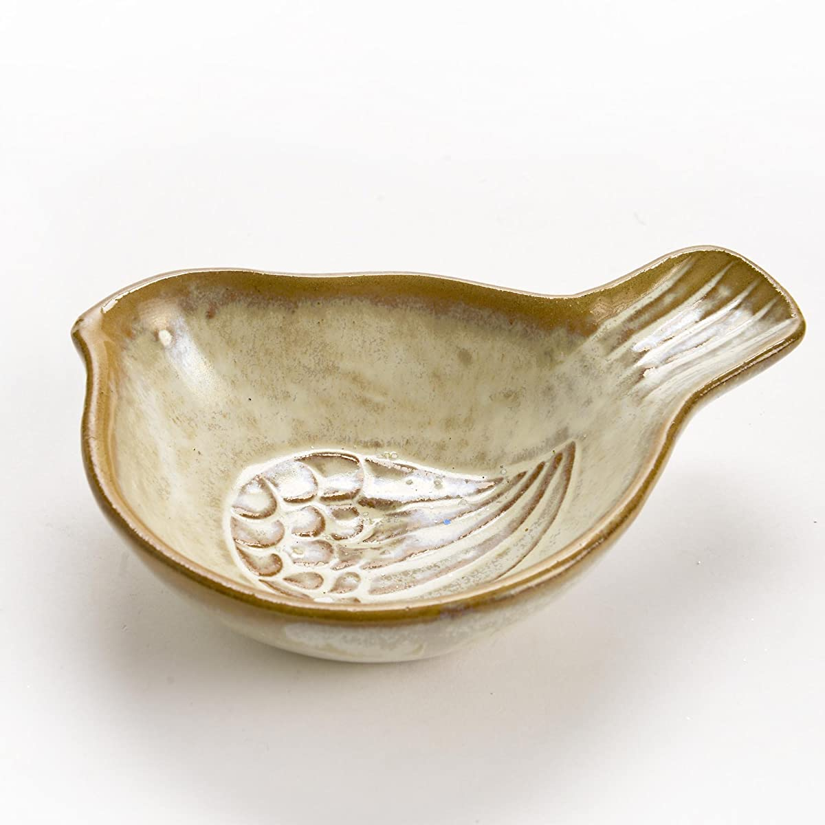 Bird Shaped Decorative Ceramic Serving Bowl