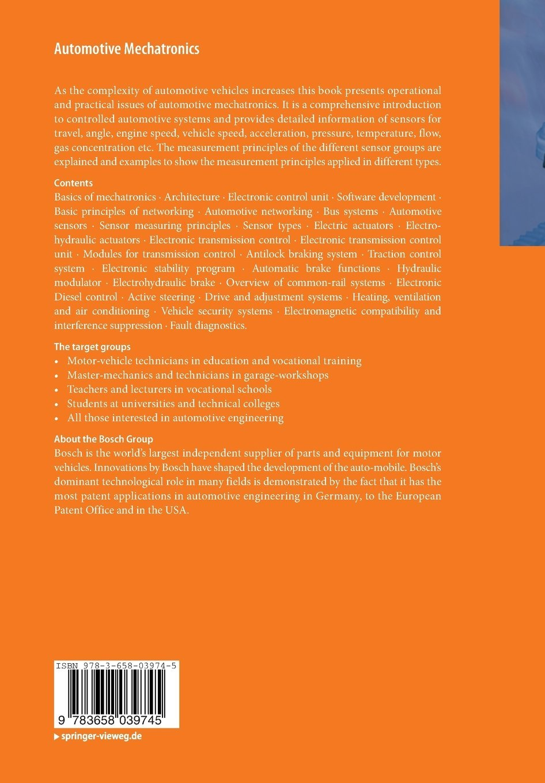 buy automotive mechatronics bosch professional automotive buy automotive mechatronics bosch professional automotive information book online at low prices in automotive mechatronics bosch professional