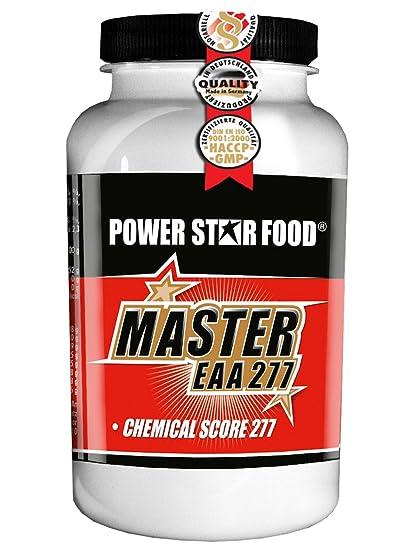 MASTER EAA 277, Dose 200 Kapseln à 620 mg, alle essentiellen Aminosäuren mit dem höchsten CS in Pharmaqualität