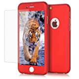 iPhone 6/ 6S case, VPR 2 in 1 Ultra Thin Full Body Protection Hard Premium Luxury Cover [Slim Fit] Shock Absorption Skid-proof PC case for Apple iPhone 6/ 6S(4.7inch) (Red)