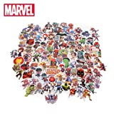 101pcs Marvel Toys Avengers Endgame Stickers Super Hero Hulk Iron Man Spiderman Captain American Car Sticker for Luggage