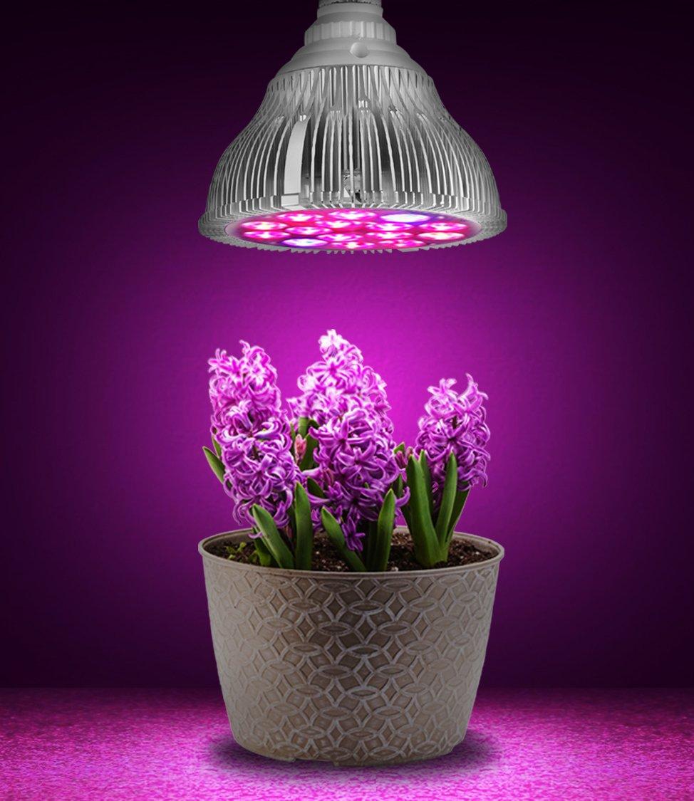E27 6w 15w 21w 27w 36w 45w 54w Led Plant Grow Light Hydroponic For Flower