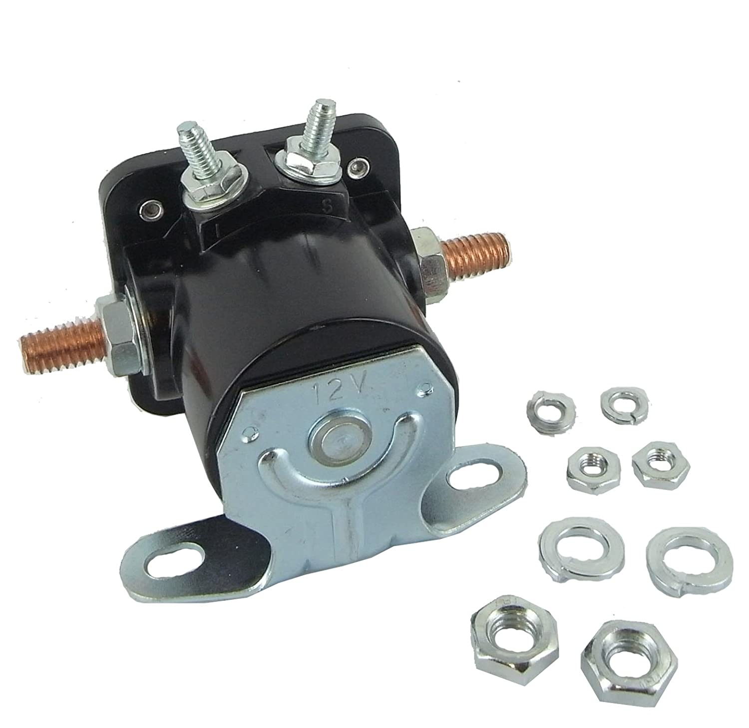 By the way, the Ford solenoid provides a convenient point to connect a  remote starter switch when performing maintenance in the engine compartment  that ...