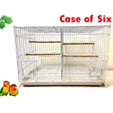 Mcage Lot of Breeding Bird Flight Cages for Canary Parakeet Aviaries Budgies Lovebird Finch (24