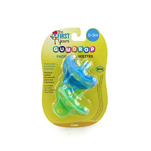 The First Years GumDrop Newborn Pacifier Review