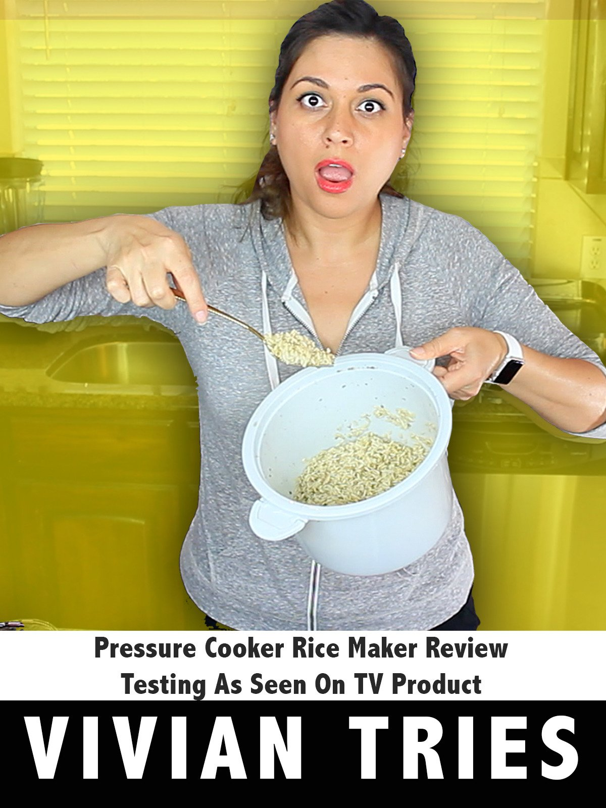 Review: Pressure Cooker Rice Maker Review Testing As Seen On TV Products