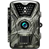 Earthtree Trail Game Camera FHD 1080P Deer Hunting Camera with 940nm IR LEDs,0.5s Trigger Speed,Up to 65ft Trigger Distance,2.4 inch LCD Screen,IP66 Water Resistance for Game & Home Security (Color: 24LEDs, Tamaño: L)