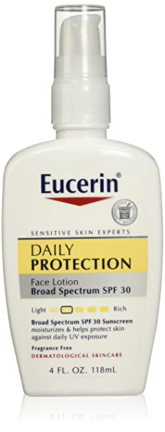 Eucerin Daily Protection Moisturizing Face Lotion Reviews