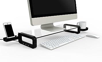 Iclooly - Support & Dock - iClooly U-Board Smart - Tablette de bureau avec hub USB 2.0 3 ports