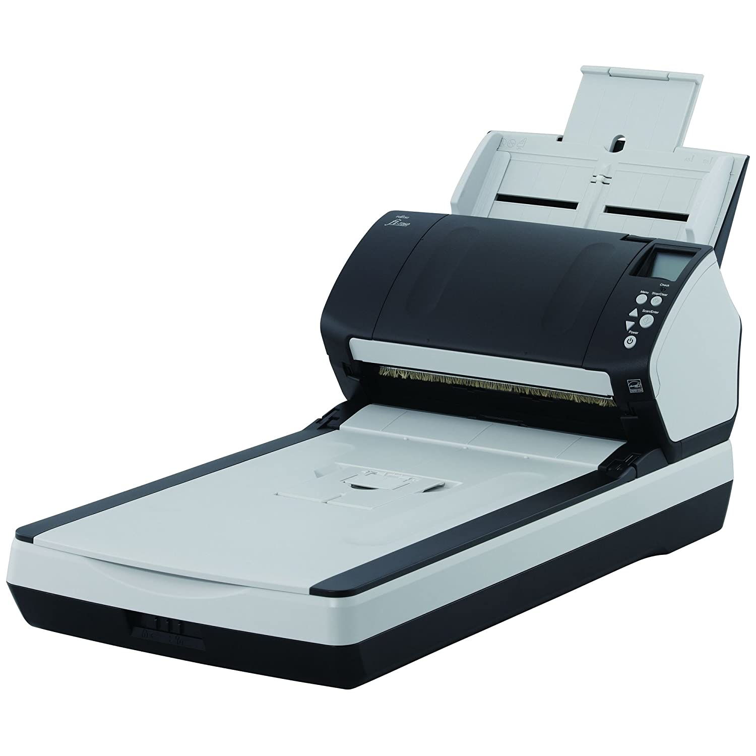 FUJITSU i-7260 Sheetfed/Flatbed Scanner / 24-bit Color - 8-bit Grayscale - USB / PA03670-B555 /