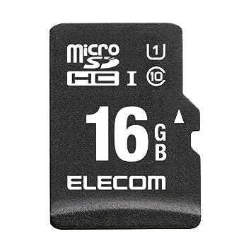 【クリックで詳細表示】ELECOM microSDHCカード ドライブレコーダー/カーナビ向け MLC採用 UHS-1 耐熱 耐衝撃 防水 16GB Class10 MF-CAMR016GU11: カー&バイク用品