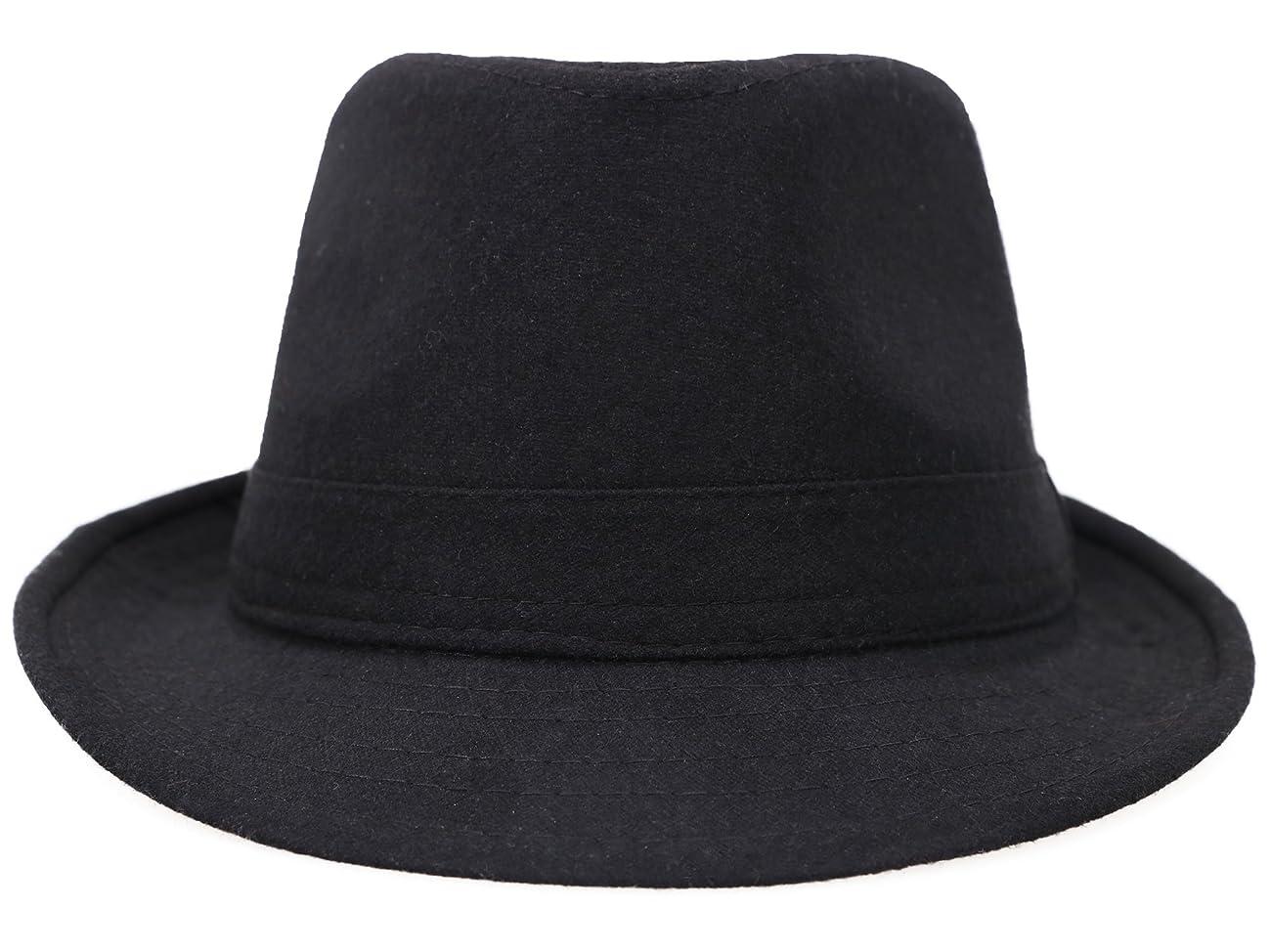 Simplicity Women Men's Fashion Fall / Winter Dapper Fedora Hat w/ Wide Brim 1