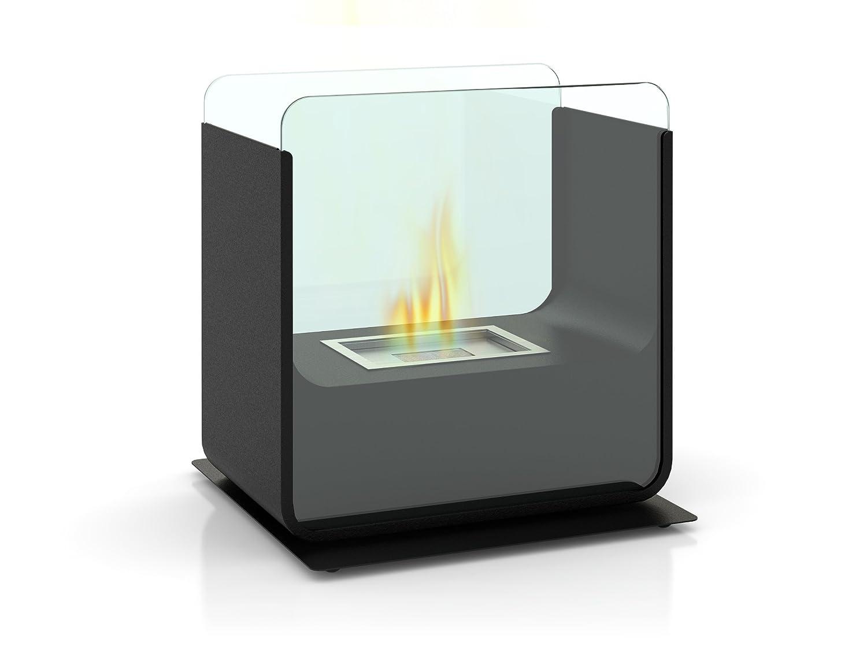 <p>Peque&ntilde;a estufa de mesa de bioetanol. dimensiones reducidas</p>