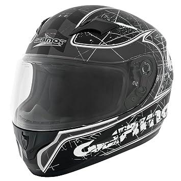 Germot gM 305 casque intégral-noir/gris