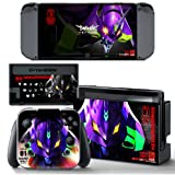 Ci-Yu-Online VINYL SKIN [NS] Neon Genesis Evangelion EVA Unit 01 #1 STICKER DECAL COVER for Nintendo Switch Console and Joy-Con Controllers