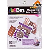 ArtBin 6979AB DIE Cut MAGENTIC STOAGE Sheets Refills 3PK, 3, Multicolor - 2 Pack (Tamaño: 2 Pack of 3 Sheets)