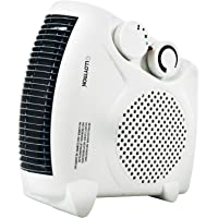Lloytron F2003WH 2000W Fan Heater (White)