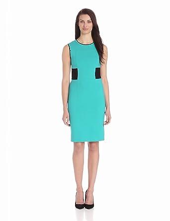 Kenneth Cole New York Women's Falda Dress, Patina Green