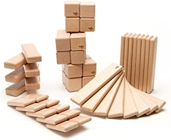 52-Piece Tegu Wooden Block Set