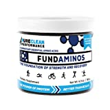 Essential Amino Acid Powder: FundAminos - Jar (30 Serving - 195G), Vegan, Great Tasting, Naturally Fruit-Flavoured, Best Priced, Compare to MAP and PerfectAmino, 30 Servings (Color: Fundaminos 195g)