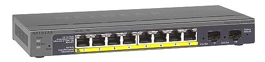 Netgear GS110TP-200EUS Prosafe Switch PoE 10 Ports Noir
